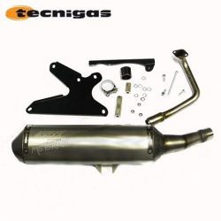 Exhaust complete for scooter Sym Jet 125 cc - stroke by Tecnigas 4Scoot