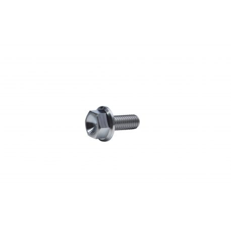 Titanium GR-5 Flanged BOLT Hex screw M8 x 20 mm price : 3,49 € MKR Product  TI-M8-20-6921 available at MOTORKIT