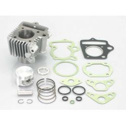 Kitaco 75cc light cylinder kit for 12V engine silver