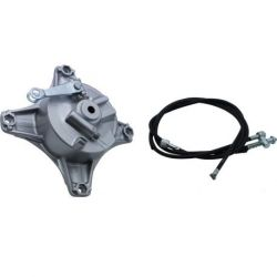 front hub with brake drum for Honda Dax CT ST 50 and 70cc - 6 and 12 volts and Jincheng - Skyteam 1st model