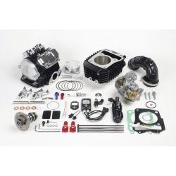 SuperHead 4 valve + R combo kit Honda Grom 181cc Takegawa + FI control + big throttle body