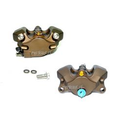 """Kepspeed CNC remklauw - 2 zuigers Brembo """"Crab"""" type - 84 mm"""