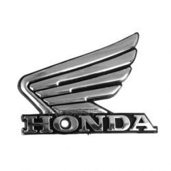 Wing mark emblem 3D left for Honda Monkey Z50J tank