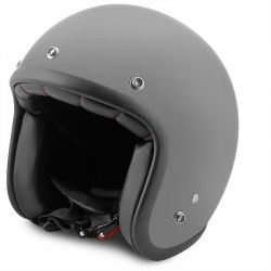 Casque Jet No-End Tribute gris mat