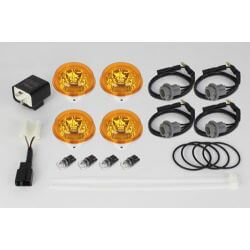 Takegawa Blaze orange winker lens led set for Honda Monkey 125cc