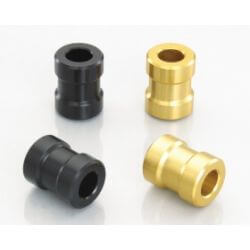 Kitaco Front Wheel Axle Spacers for Honda GROM - MSX - Monkey 125 - Black or Gold