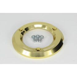 Takegawa golden aluminum clutch cover protection ring for Honda Monkey 125 JB02