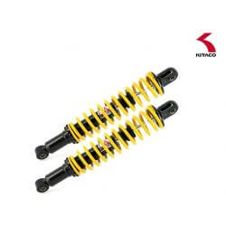 Kitaco Adjustable Hydraulic Shock Absorber set for Honda Monkey 125 - Yellow