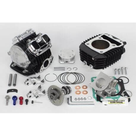 Takegawa 181cc Superhead 4V + R optimized kit Honda MSX - SF Grom Monkey 125cc