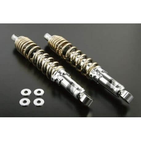 Takegawa 330mm shockabsorbers set gold and chrome Monkey 125 DAX ST CT