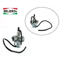 Dellorto carburateur 17.5mm voor scooters Honda / Kymco / Sym 2 takt