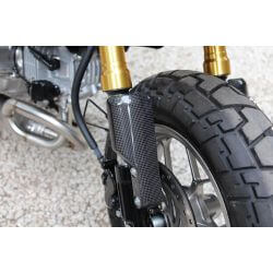 Protections de fourche carbone pour Honda Monkey 125 (JB02). By Tyga