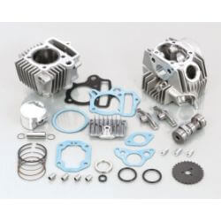 Kitaco 88cc STD type 2 cylinder and head kit Honda Dax ST CT Cub Monkey 12V CRF and Skyteam