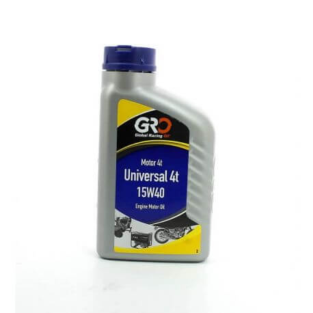 G-R-O 15w40 Universal Multigrade oil for 4 Stroke