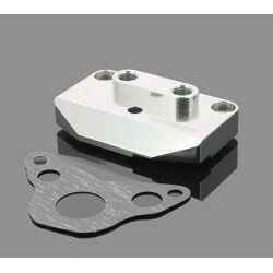 Takegawa CNC right side head cover with oil inlet / outlet Dax Monkey 6 or 12 volts 09-07-0501