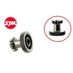 Intermediate electric starter voor Sym Mio Orbit Super8 Symphony - Peugeot Tweet Speedfight3 Vivacity3 - 4 Stroke 137QMB. Origin