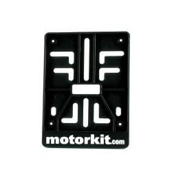 License plate holder plastic for scooter - electric bikes - moped 10 x 12cm