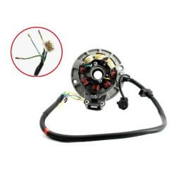 Ignition stator for Anima Daytona motor with lighting