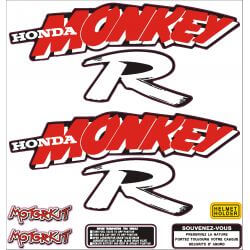 Sticker set for Honda Monkey R - ZB and PBR. Repro.
