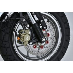G-Craft Remklauwbeugel voor Brembo Crab op Honda Monkey 125cc (JB02)