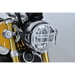 Grille de protection de phare en aluminium G-Craft pour Honda Monkey 125cc (JB02)