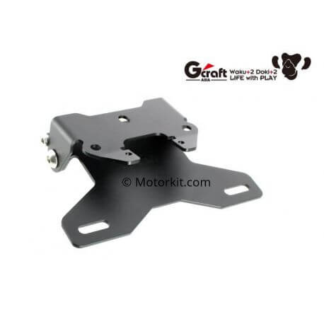 G-Craft short license plate holder for Honda Monkey 125cc - JB02
