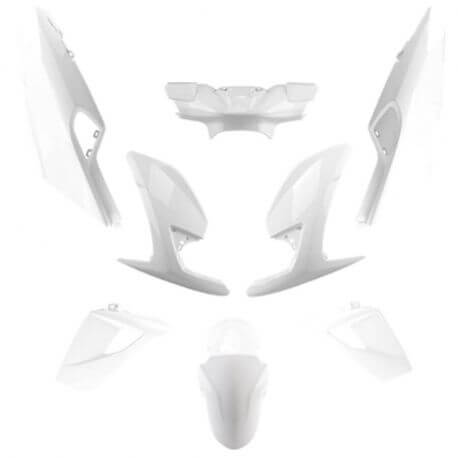 White body work Peugeot Speedfight 4 - 50 and 125cc - 2 and 4 stroke