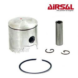 Piston kit Airsal T6 Peugeot Ludix - Speedfight 3 - Vivacity 3 - Jet force - Kisbee 2 stroke 47.6mm