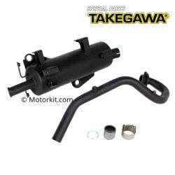 Takegawa original type Sport exhaust for Honda Monkey 125 JB02 04-02-0295