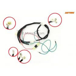Wire harness - electric braiding for Daytona Anima and Zongshen 190 engines