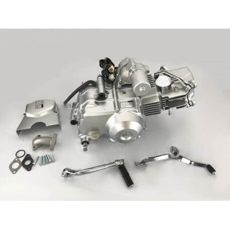 Zongshen 50cc engine - semi automatic - 4 valves with electric starter