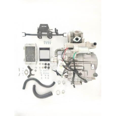 YX 130cc - liquid cooled engine with electric starter