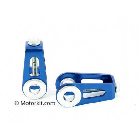 CNC chain adjusters for Kepspeed swingarm for Cub