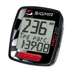 Sigma speedometer for motorcycle, scooter and mopeds