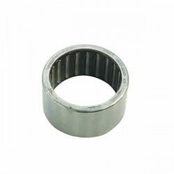 Doppler pulley bearing needle cage with clutch