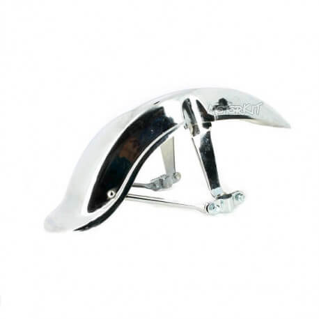 Front fender Chaly / German Dax type - chrome