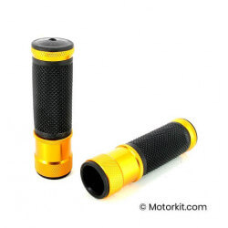 Gold aluminum CNC motorcycle cover grips