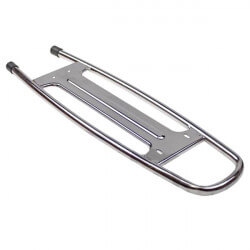 Chrome rear luggage rack for Peugeot 103