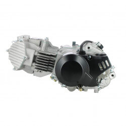 YX150cc engine (Honda angle) matte black ignition and clutch cover