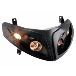 Koplamp Speedfight 2, zwart, 4 halogen