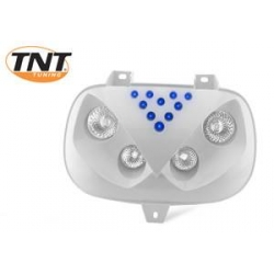 Optic 4 halogens with leds for Spirit TNT white and blue headlight