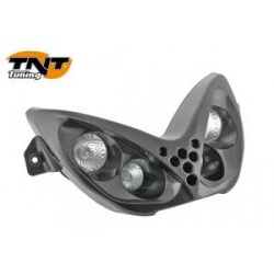 Headlight Nitro / Aerox 4 halogen bulb black without leds TNT