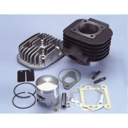 Cylinder kit Booster - Bws - Stunt Polini cast iron 47mm with head 166.0074